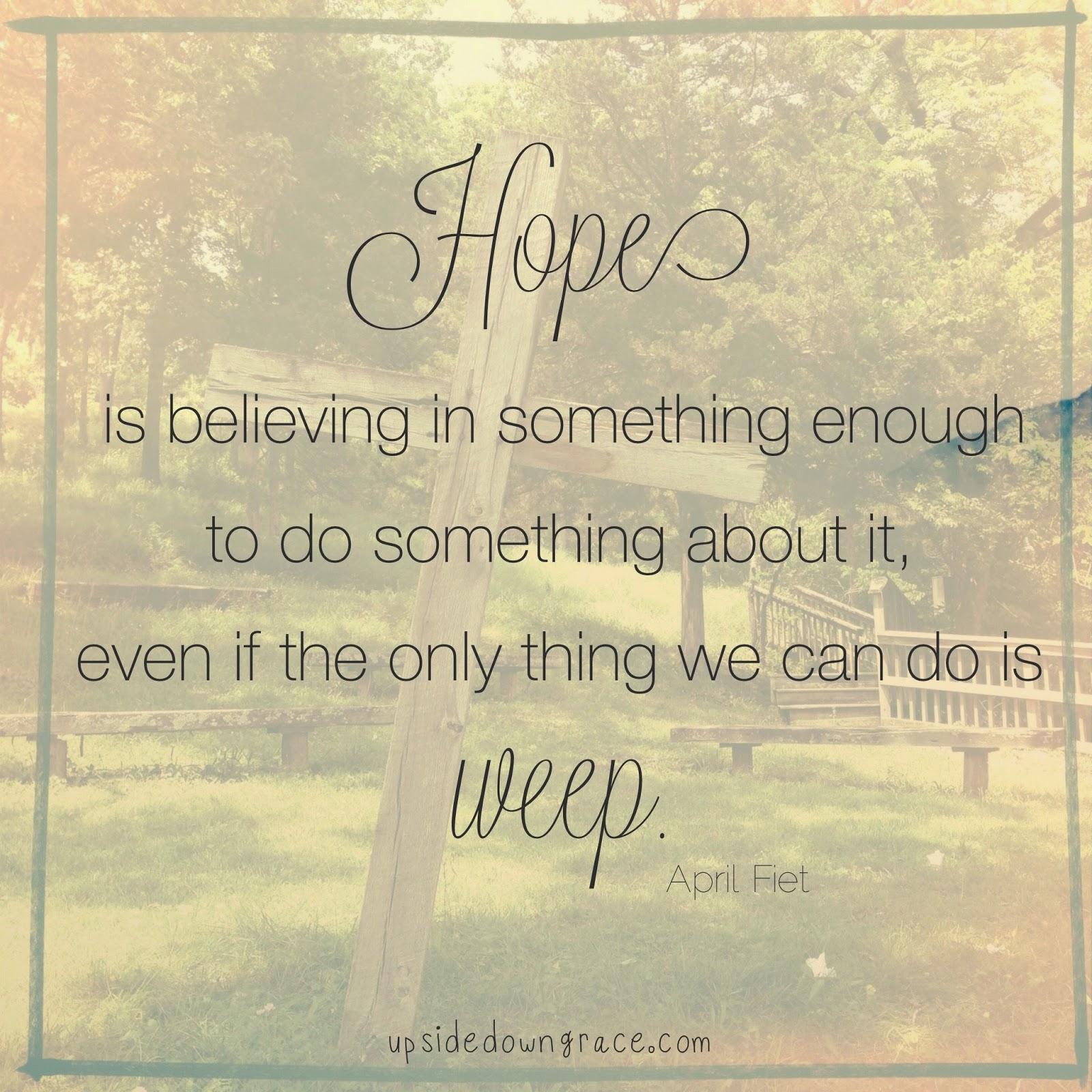 When Hope Seems Hopeless – Guest Post