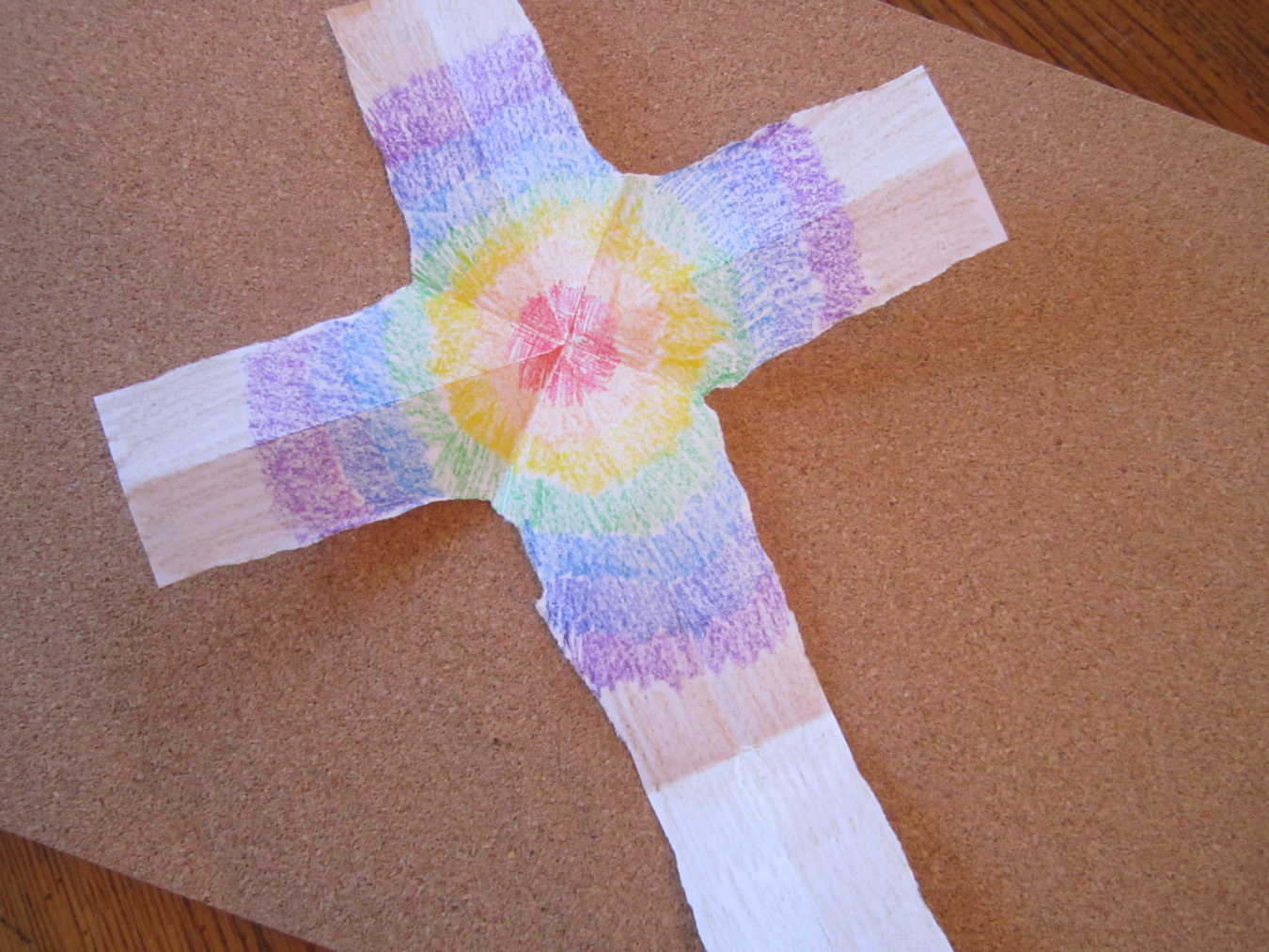 A Paper Cross – Teaching Good Friday to Children